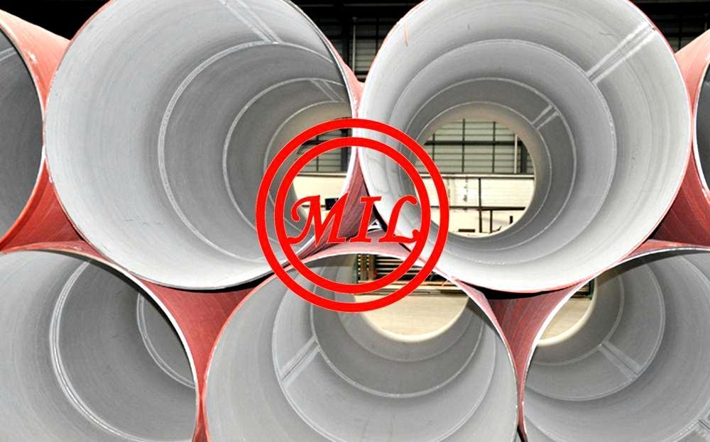 ASTM A358,ASTM A409,ASTM A928,EN 10217-7,EN 10296-2 SS Press Rolled Pipe