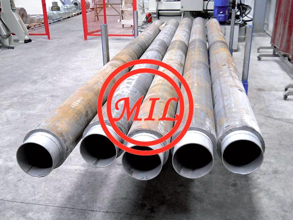 API 5L X52+ASTM A312 S304L LINED CRA LINE PIPE