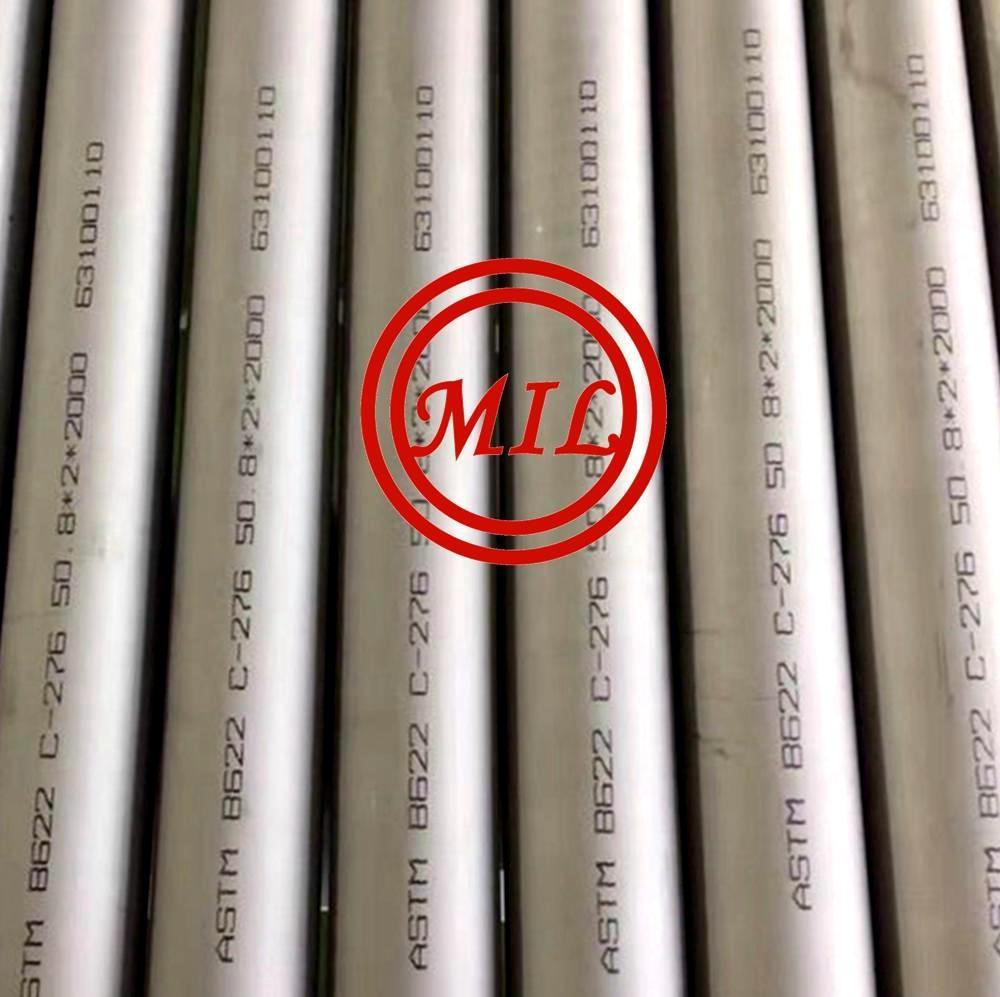 ASTM B622 C276 HASTEALLOY TUBE