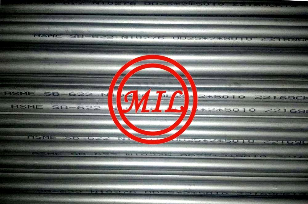 ASME SB622 HASTELLOY UNS N10276 Seamless Nickel and Nickel-Cobalt Alloy Pipe and Tube