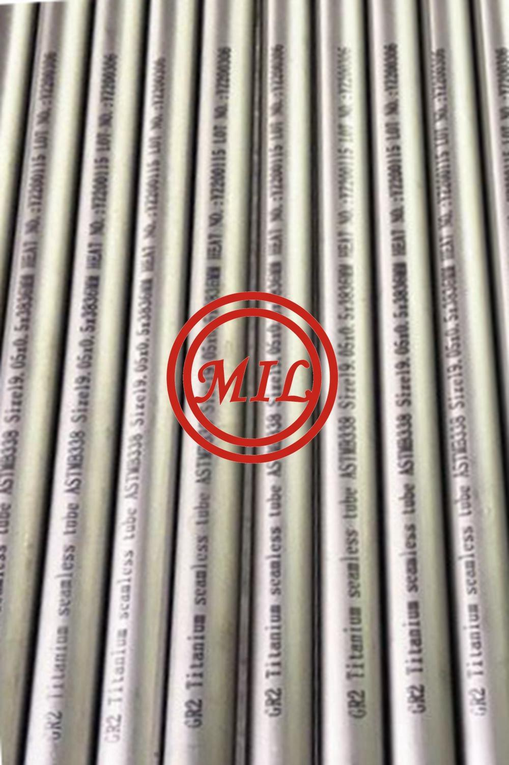 astm-b338-grade 1-heat-exchanger-titanium tube