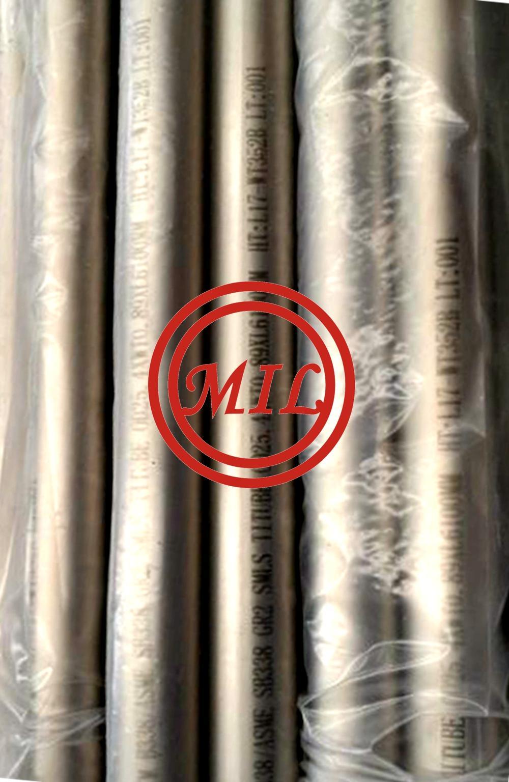 ASTM B338 Gr2  metallurgy_seamless_titanium_alloy_tube_corrosion_resistance