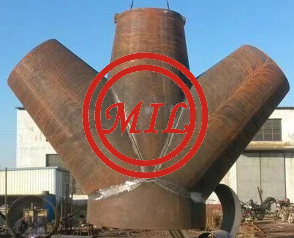 Customized carbon steel butt weld pipe fittings