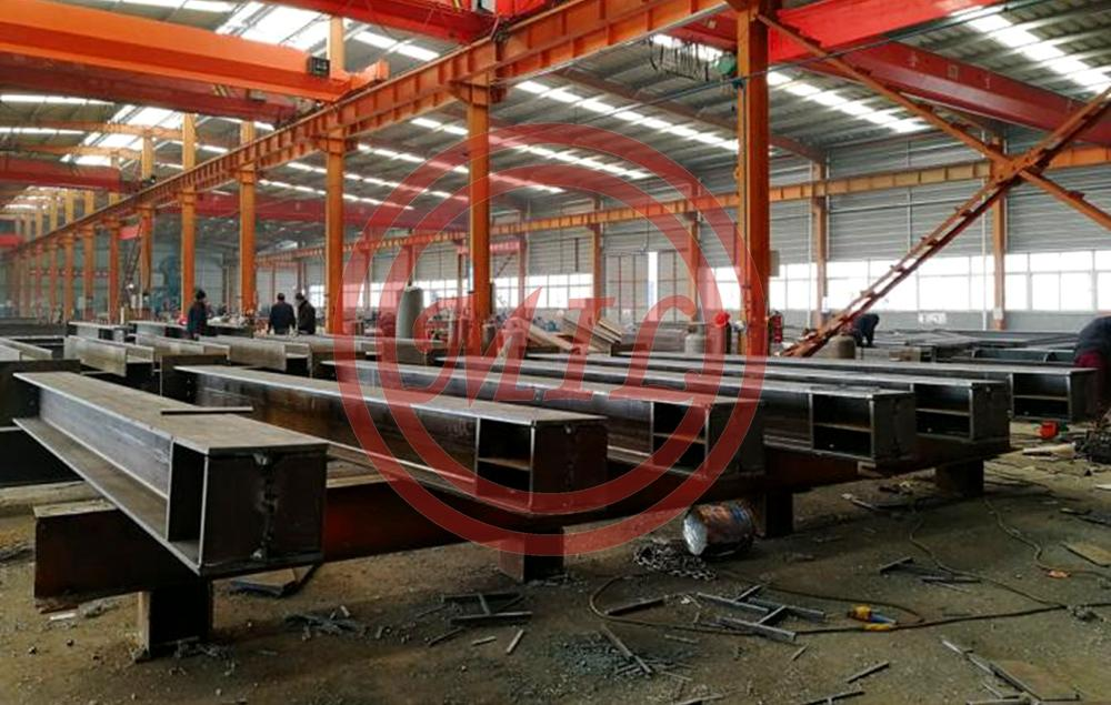H Shape Steel Beam Structural Steel Fabrication