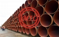 EN 10208-2  L555MB Steel pipes+ ISO 21809-2 Fusion-bonded epoxy coatings