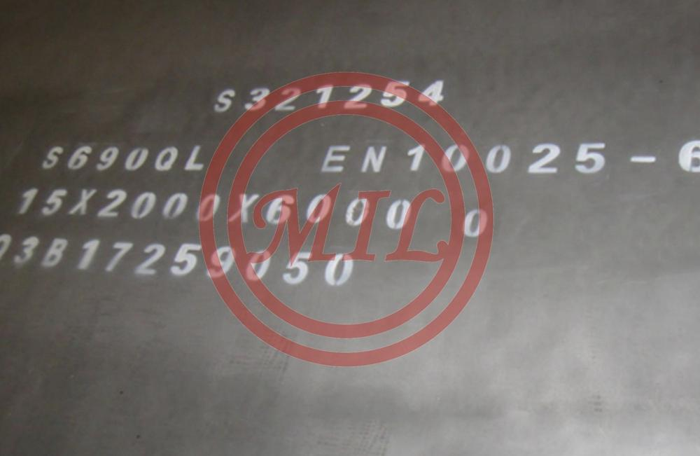 EN10025-6 s690ql quenched-tempered-structural-steel-plates