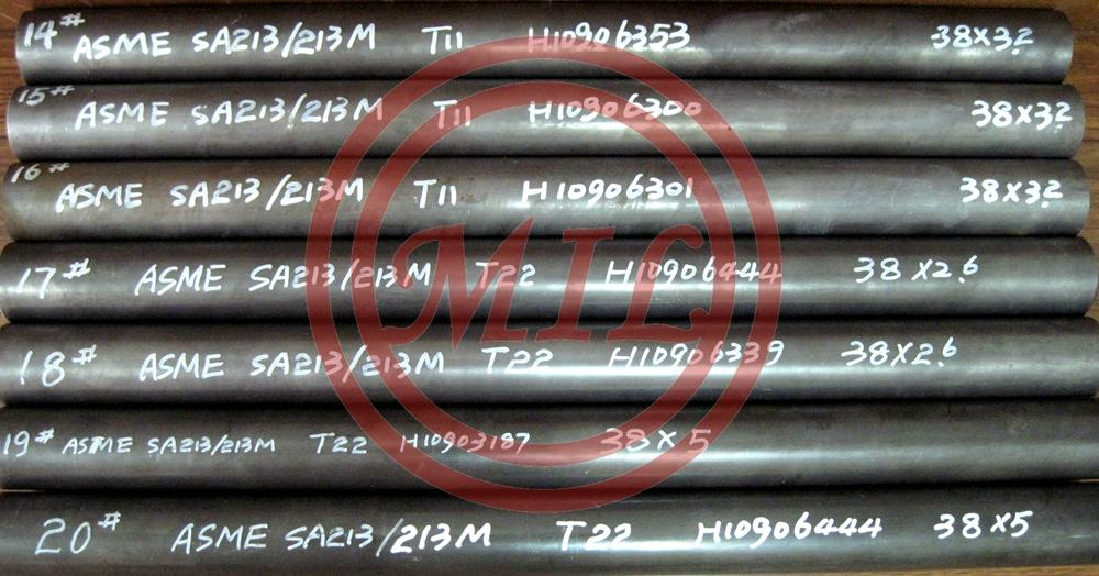ASME SA213 T11 Seamless Ferritic and Austenitic Alloy-Steel Boiler, Superheater, and Heat-Exchanger Tubes