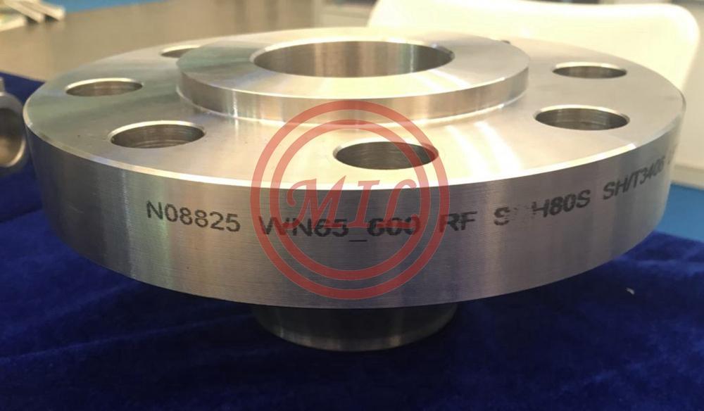 ASTM B564 N08825 Incoloy825 Flange