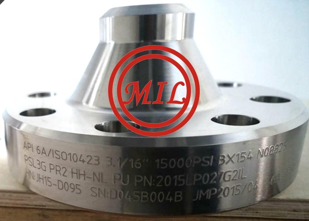 N08825 Nickel Alloy Nozzle Flange