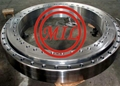 Large Medical Machine Rolled Ring Forging Steel Flange , Slewing Ring