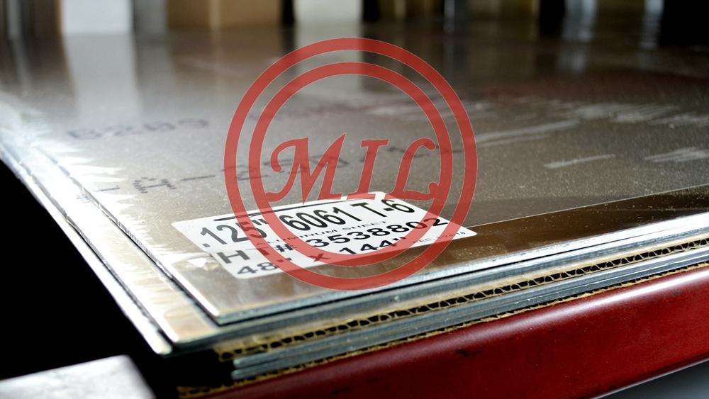 6061-T4 Aluminum Plate