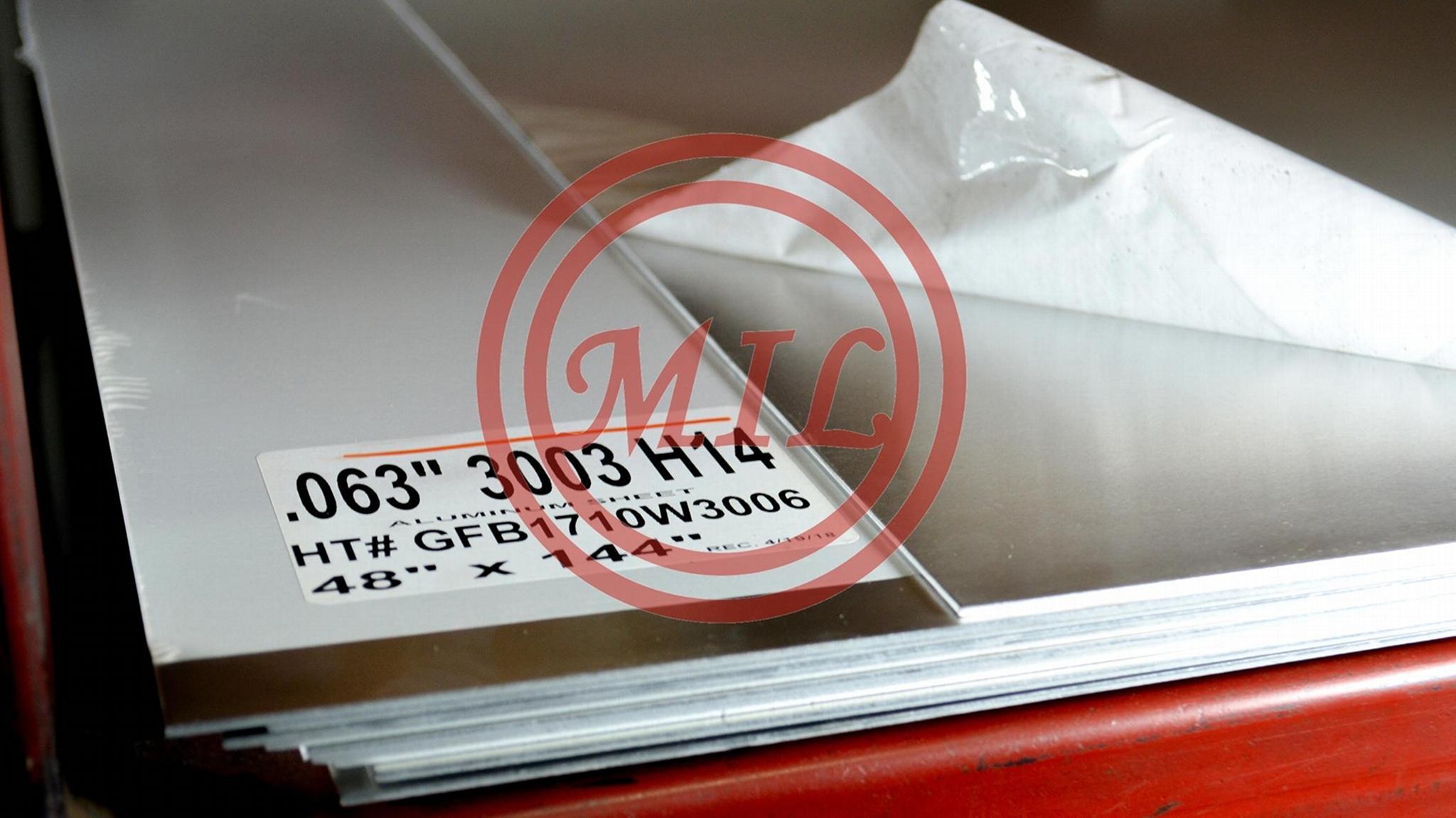 3003 H14 Aluminum Plate
