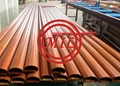 Wood Grain Customize Aluminium Extrusion Rail