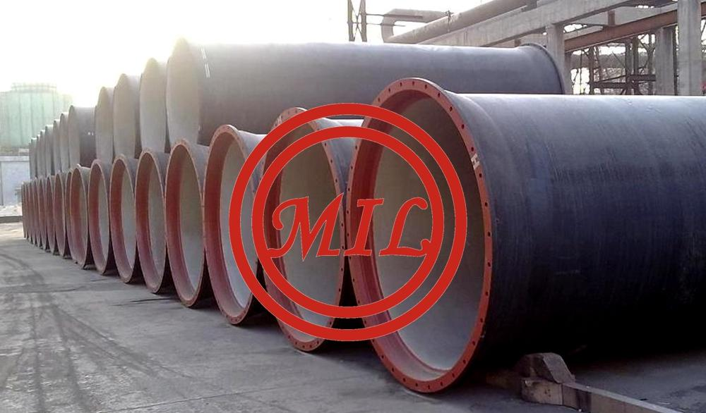 EN 598 double-flanged-ductile-iron pipe