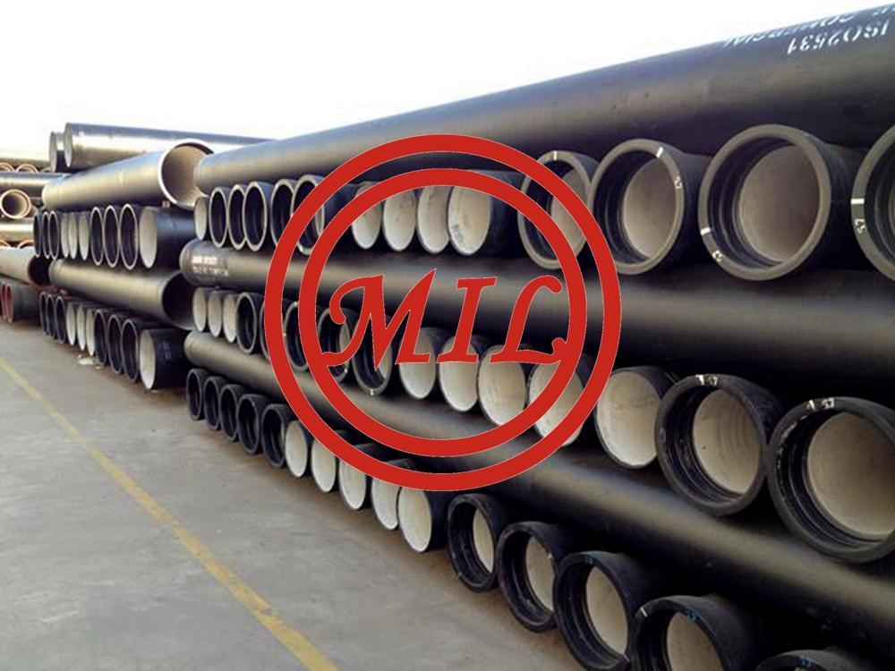 ISO 2531 K9 Tyton Socket Spigot Ductile Iron Pipe