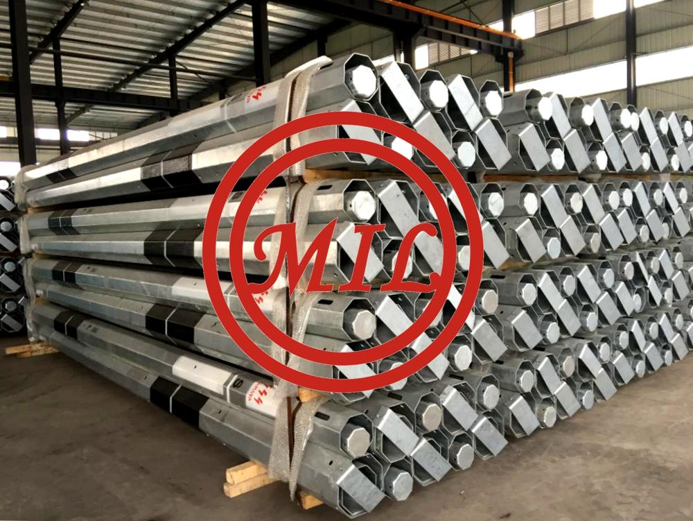 Traffic pole and galvanized steel traffic sign poles_副本