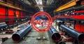 EN 10208-2  L555MB Steel pipes+ ISO 21809-2 3PE coatings