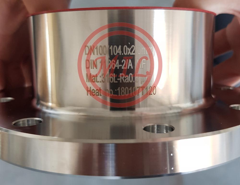DIN 11864 316L stainless steel Flange