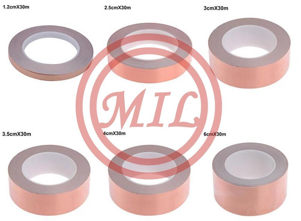 30-Meters-Single-Side-Conductive-Copper-Foil-Tape-Strip-Adhesive-EMI-Shielding-Heat-Resist-Tape
