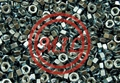 Astm A194 Grade 4 500 Zinc Plated LEFT HAND THREAD Hex Finish Nuts