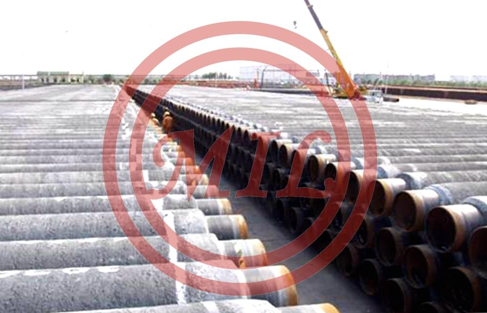 CONCRETE WEIGHT COATED PIPE