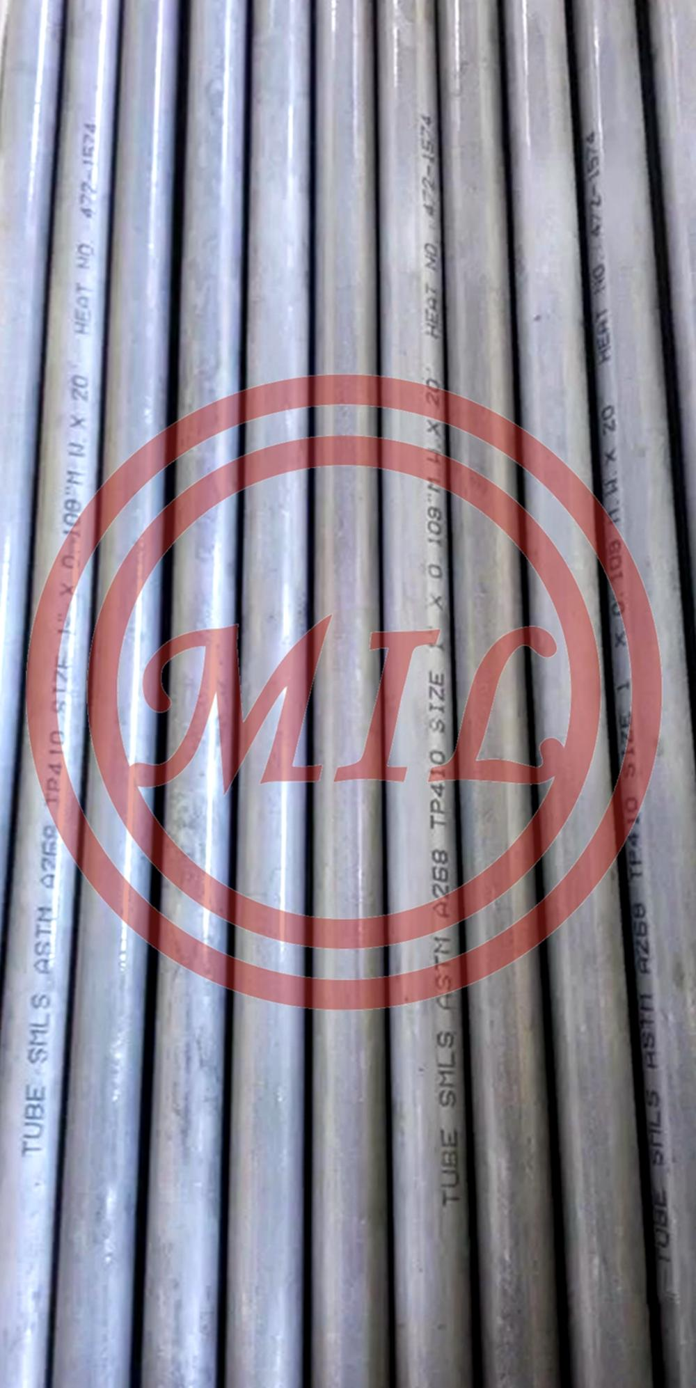 astm_a268 TP410_s41000 stainless_steel_seamless_tubes_pipes
