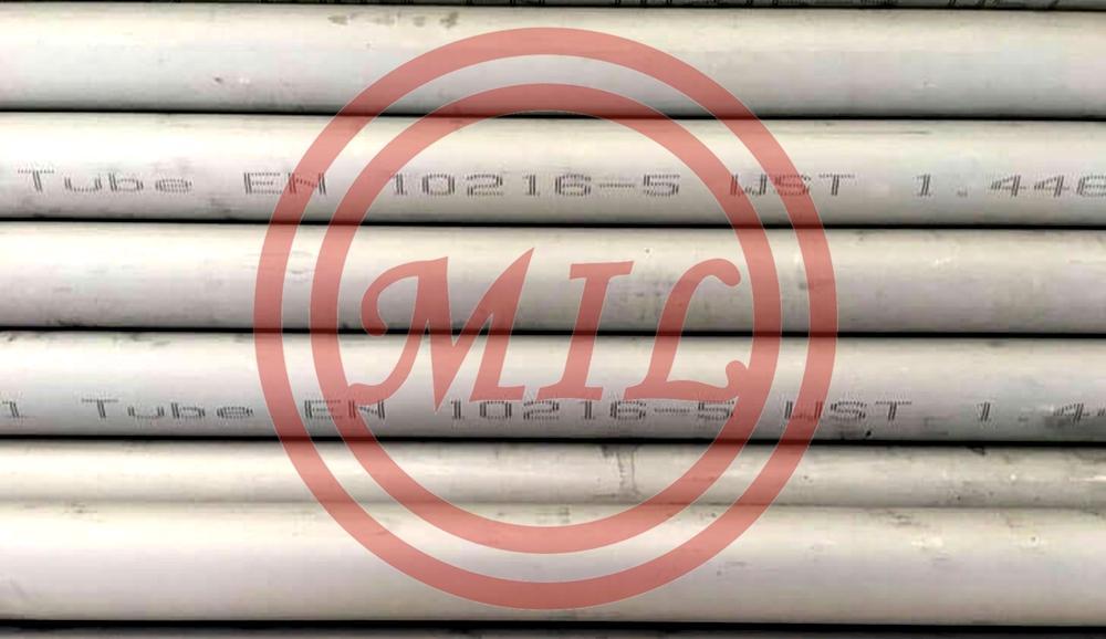 EN 10216-5 1.4462 Stainless Steel Pipe