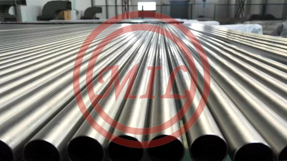 ASTM A861 GR.2 Heat Resistant Titanium Alloy Tube