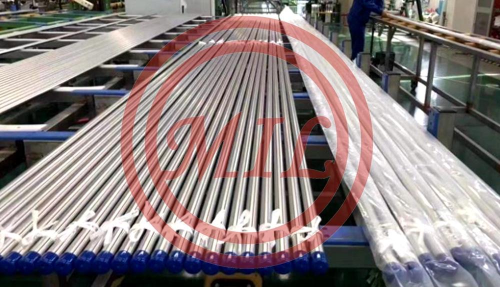 EN10217-7 SS316 1.4301 BA finished Welded Stainless Steel Tube