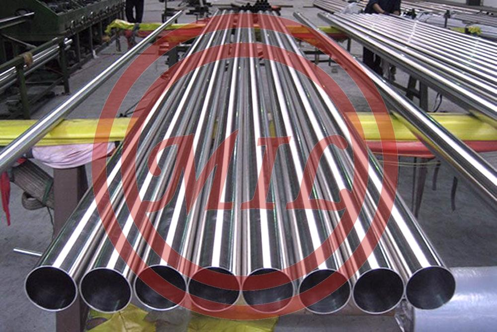"""ASTM A270 Sanitary Food Grade Stainless Steel Tubing 1""""x0.065""""x20ft 180grit Polished"""