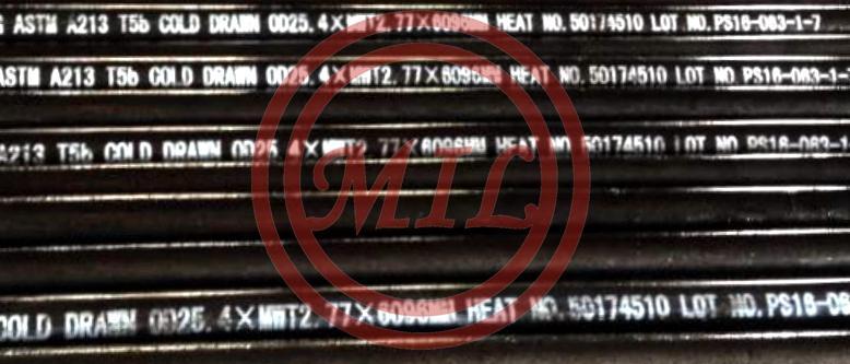 ASTM A213/ASME SA213 T5b Seamless Alloy Tubes