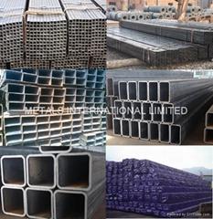 ASTM A500,AS1163,EN10219,EN10210,ASTM A847-Square/Rectangular Steel Pipe