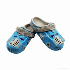 2015 latest design hot sale Transformers children EVA slippers EVA shoes