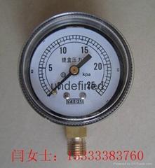 廠家批發零售膜盒壓力表YE-60