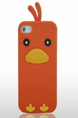 chicken orange phone case