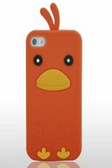 chicken orange phone case