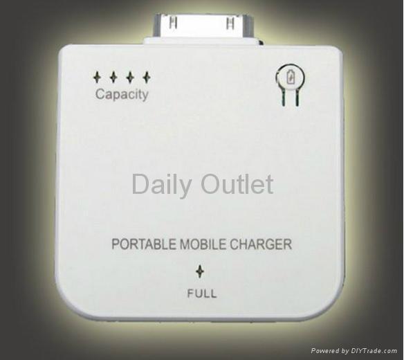 I phone 3 & 4 1800mAh extra battery pack 1