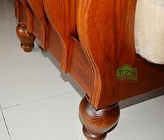 純實木傢具實木沙發圖片