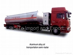 LNG trailer and Oil tank Truks