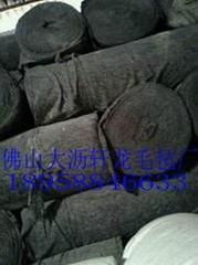 厂家直销广东蔬菜水果运输黑色毛毡