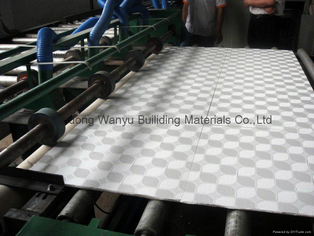 PVC gypsum ceiling tiles 1