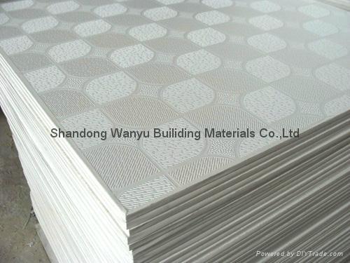 PVC gypsum ceiling tiles 5