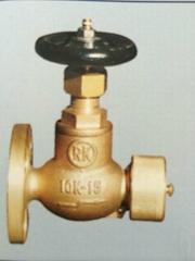 Marine Bronze Globe Hose Valve JIS F7334A 5k/10k