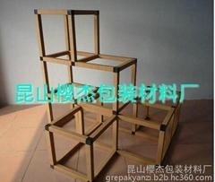 供应纸方管易组装环保展示架