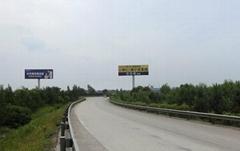 大运高速与京大高速大同出口擎天柱