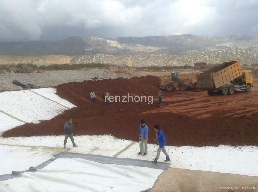 geosynthetic clay liner  1