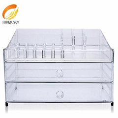 Acrylic jewelry display Clear makeup organizer Acrylic jewelry box