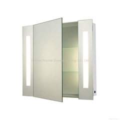 Backlit Bath Cabinet