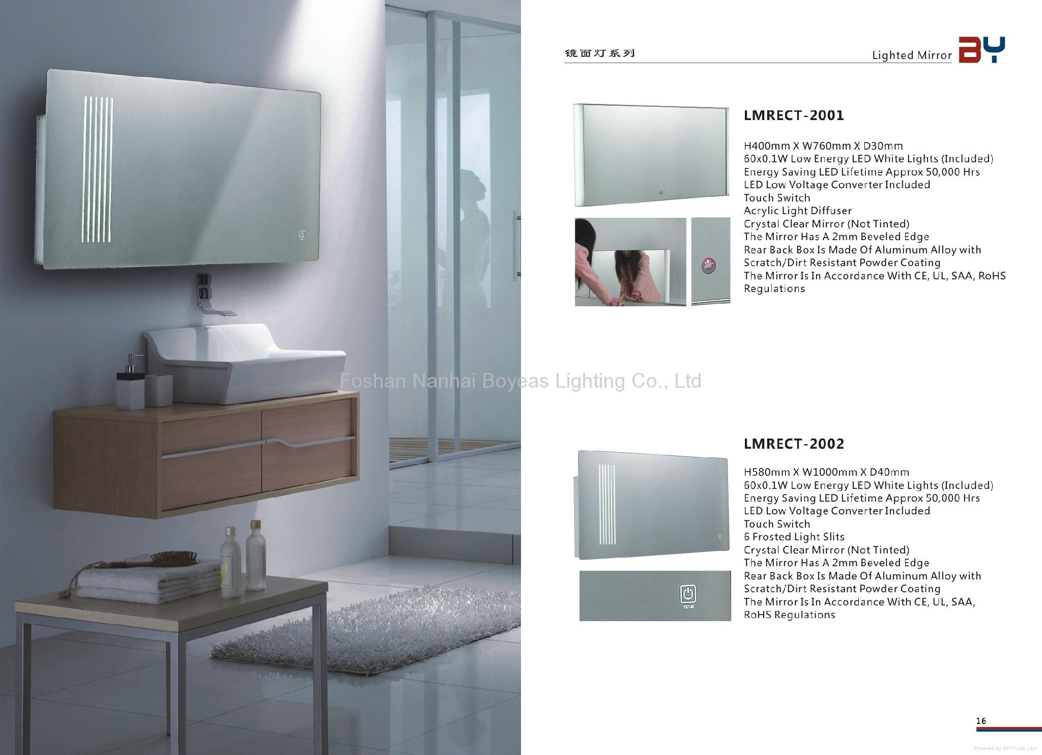 Backlit Bathroom Mirror 2