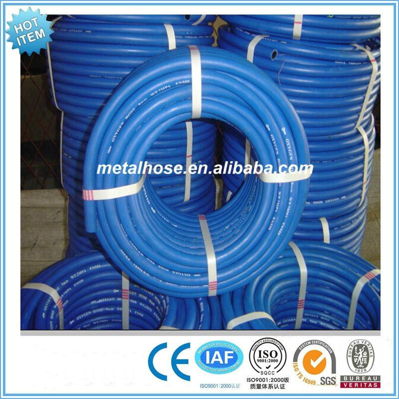 GB standard yellow compressed air rubber hose 4
